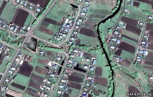 Сафажай в Google Earth